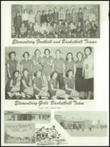 1955 Baird High School Yearbook Page 84 & 85