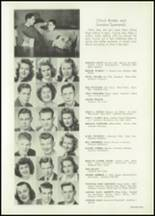 1943 Bellingham High School Yearbook Page 34 & 35