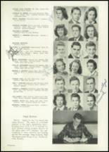 1943 Bellingham High School Yearbook Page 38 & 39