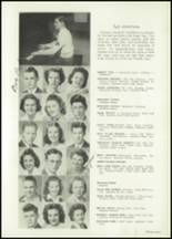 1943 Bellingham High School Yearbook Page 42 & 43