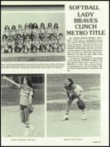 1982 Boone High School Yearbook Page 110 & 111