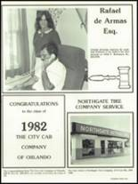 1982 Boone High School Yearbook Page 316 & 317