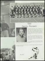 1982 Gentry High School Yearbook Page 68 & 69