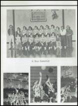 1982 Gentry High School Yearbook Page 80 & 81