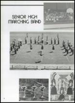 1982 Gentry High School Yearbook Page 92 & 93