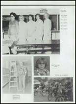 1982 Gentry High School Yearbook Page 112 & 113