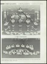 1982 Gentry High School Yearbook Page 126 & 127