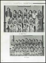 1982 Gentry High School Yearbook Page 128 & 129