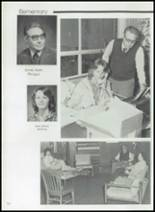 1982 Gentry High School Yearbook Page 136 & 137