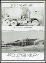 1982 Gentry High School Yearbook Page 172 & 173