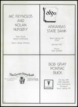 1982 Gentry High School Yearbook Page 182 & 183