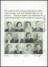 1945 Mason City High School Yearbook Page 22 & 23