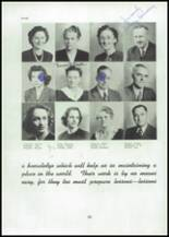 1945 Mason City High School Yearbook Page 24 & 25