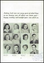 1945 Mason City High School Yearbook Page 28 & 29