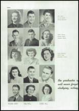 1945 Mason City High School Yearbook Page 30 & 31
