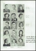 1945 Mason City High School Yearbook Page 34 & 35
