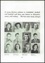 1945 Mason City High School Yearbook Page 36 & 37