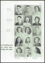 1945 Mason City High School Yearbook Page 38 & 39