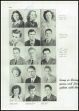 1945 Mason City High School Yearbook Page 42 & 43