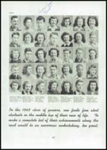 1945 Mason City High School Yearbook Page 44 & 45