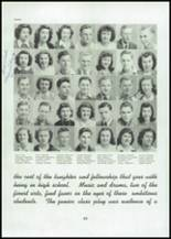 1945 Mason City High School Yearbook Page 48 & 49