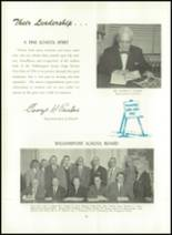 1956 Williamsport High School (closed) Yearbook Page 16 & 17