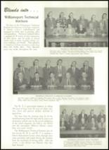 1956 Williamsport High School (closed) Yearbook Page 20 & 21