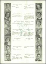 1956 Williamsport High School (closed) Yearbook Page 52 & 53