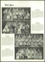 1956 Williamsport High School (closed) Yearbook Page 74 & 75