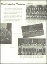 1956 Williamsport High School (closed) Yearbook Page 86 & 87