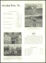1956 Williamsport High School (closed) Yearbook Page 110 & 111
