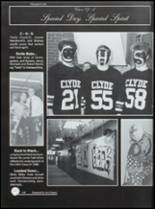 1995 Clyde High School Yearbook Page 152 & 153