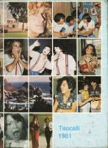 1981 Yearbook Mark Keppel High School
