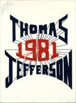 1981 Yearbook Thomas Jefferson High School
