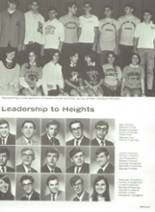 1969 Cleveland Heights High School Yearbook Page 208 & 209