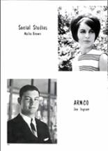 1967 Gainesville High School Yearbook Page 44 & 45