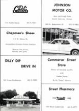 1967 Gainesville High School Yearbook Page 244 & 245