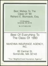 1990 Somerville High School Yearbook Page 156 & 157