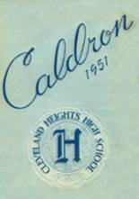 1951 Yearbook Cleveland Heights High School