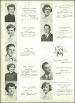 1954 Lebanon High School Yearbook Page 44 & 45