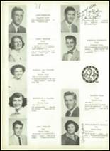 1954 Lebanon High School Yearbook Page 52 & 53