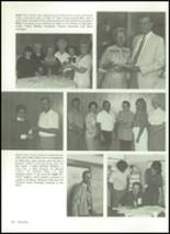 1985 Baird High School Yearbook Page 36 & 37