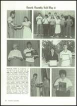 1985 Baird High School Yearbook Page 100 & 101