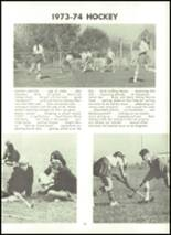 1974 Northampton High School Yearbook Page 106 & 107