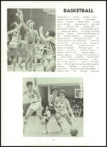 1974 Northampton High School Yearbook Page 124 & 125