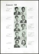1960 Beaumont High School Yearbook Page 22 & 23