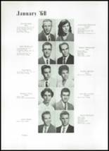 1960 Beaumont High School Yearbook Page 24 & 25
