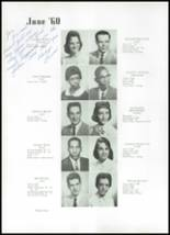 1960 Beaumont High School Yearbook Page 38 & 39