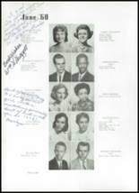 1960 Beaumont High School Yearbook Page 42 & 43