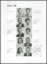1960 Beaumont High School Yearbook Page 44 & 45